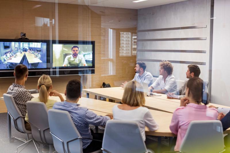 网络视频会议在企业办公的应用