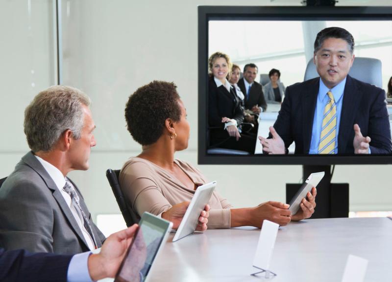视频会议目前的应用领域