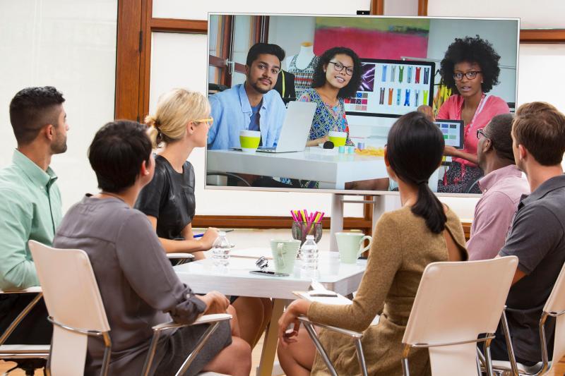 越来越多企业开始使用云会议
