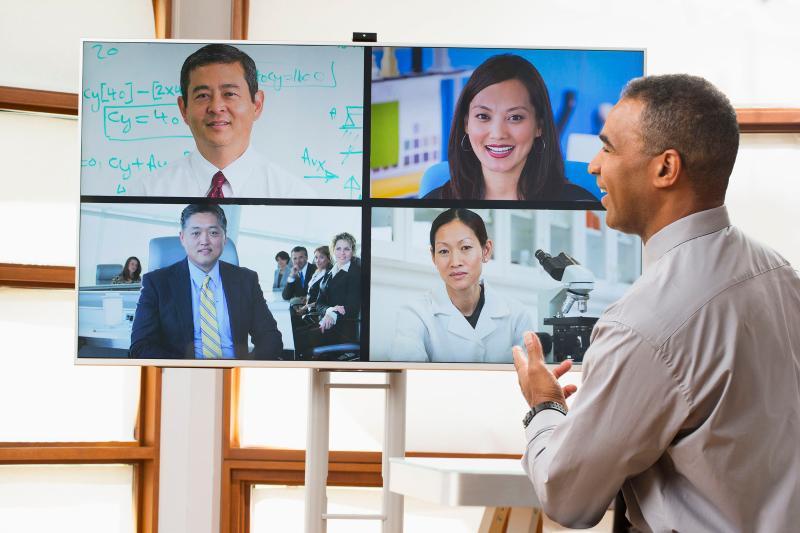 视频会议助力连锁企业高效办公