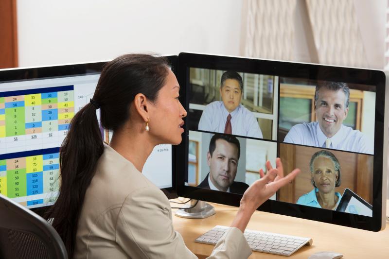 视频会议在企业中的应用模式