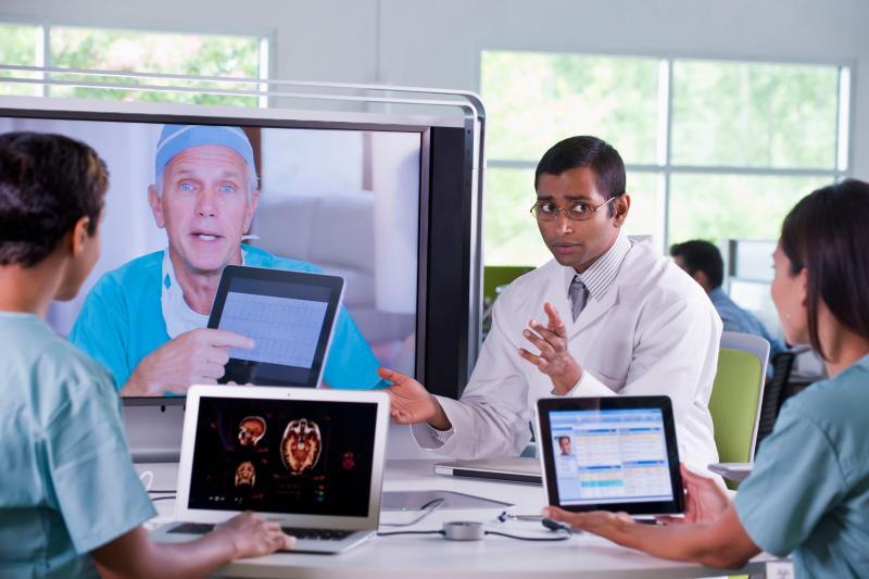视频会议打造快速便捷的医疗服务