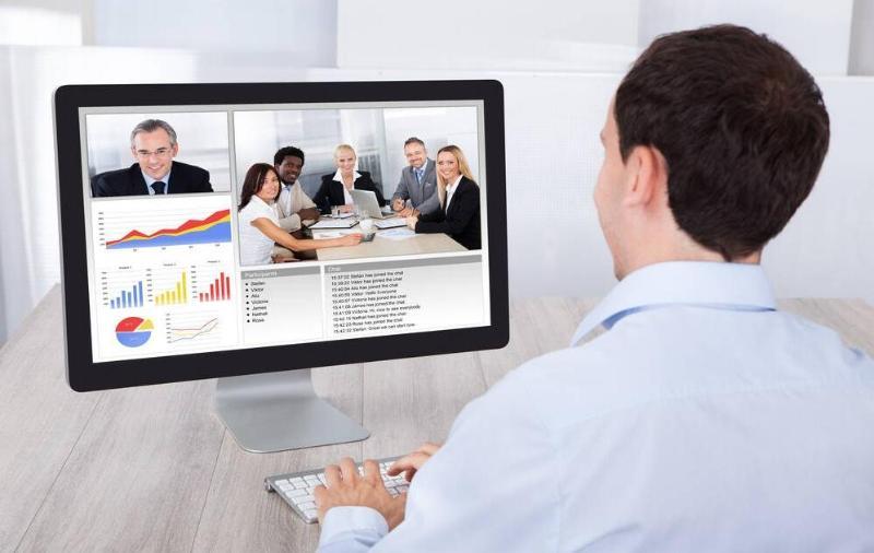 借助网络视频会议高效培训