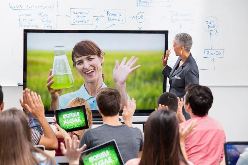 培训机构借助视频会议开展远程培训