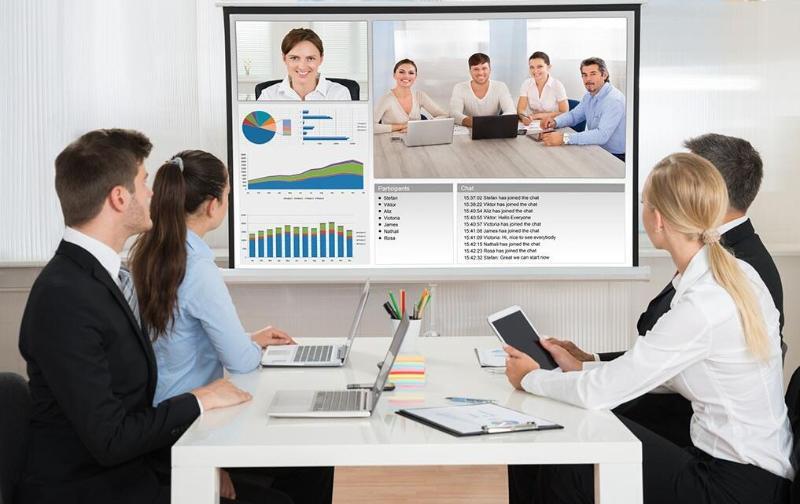 科技时代:视频会议将普及到各个行业